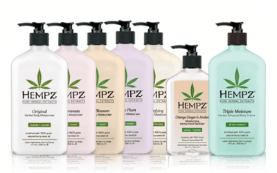 Moisturizing Hempz Body Lotions