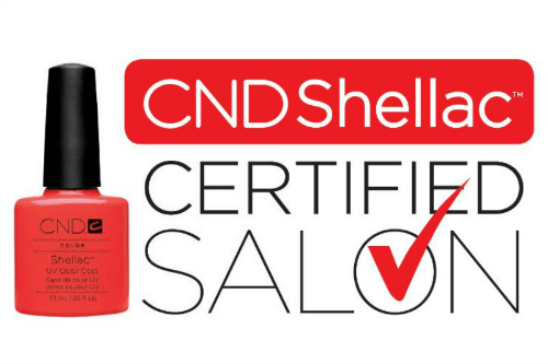 CND Shellac Certified Licensed Nail Salon